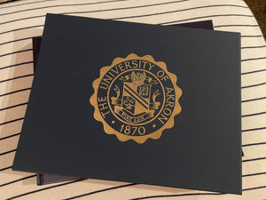 Hail We Akron Sesquicentennial Coffee Table Book