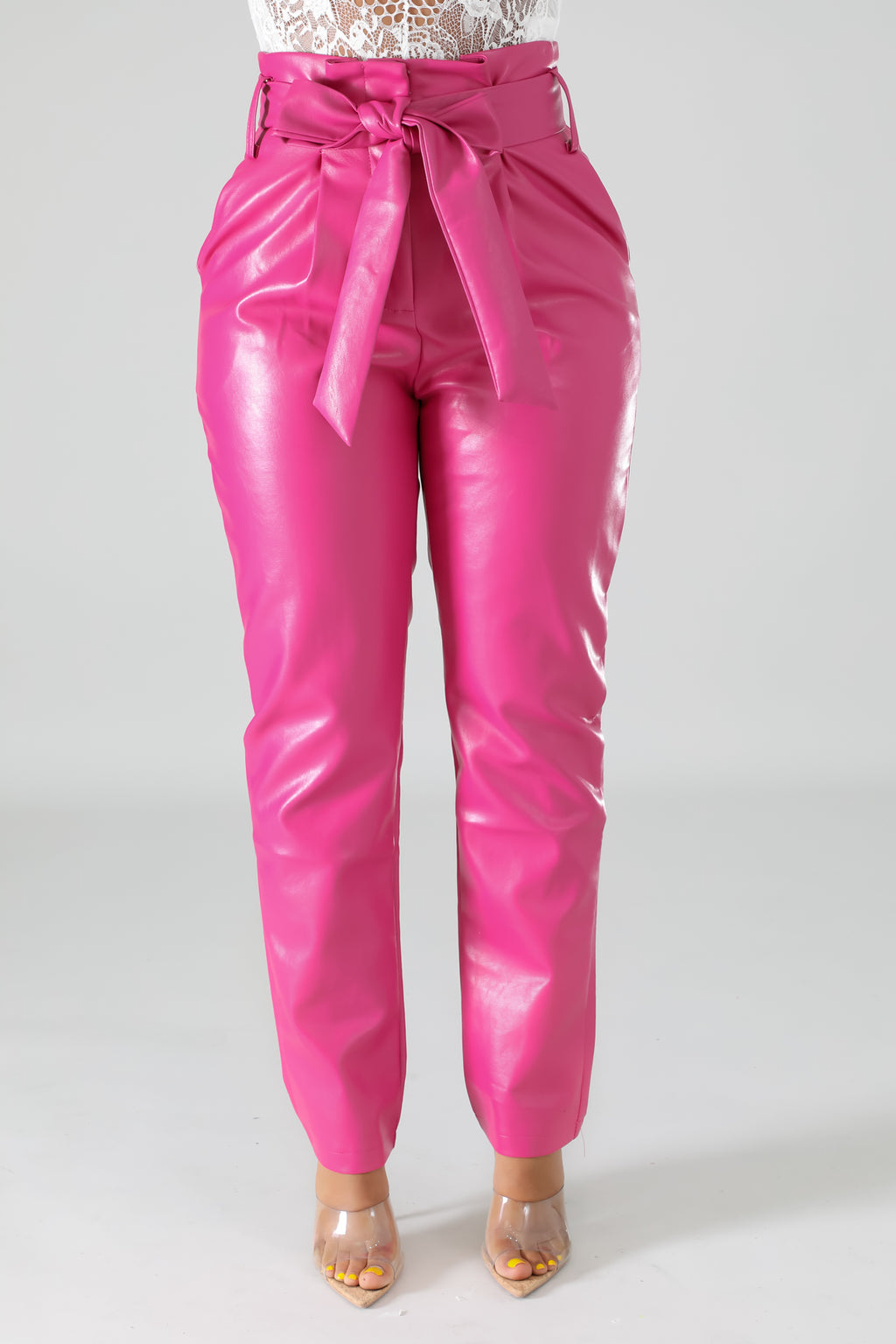 Classy Gal Bow Tie Pants - Classy & Sassy Styles Boutique