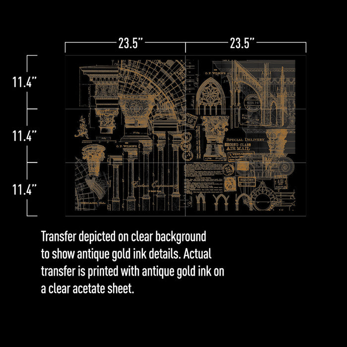 ARCHITECTURE: REDESIGN DECOR TRANSFERS®