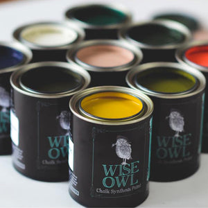 Wise Owl Chalk Synthesis Paint - Quart