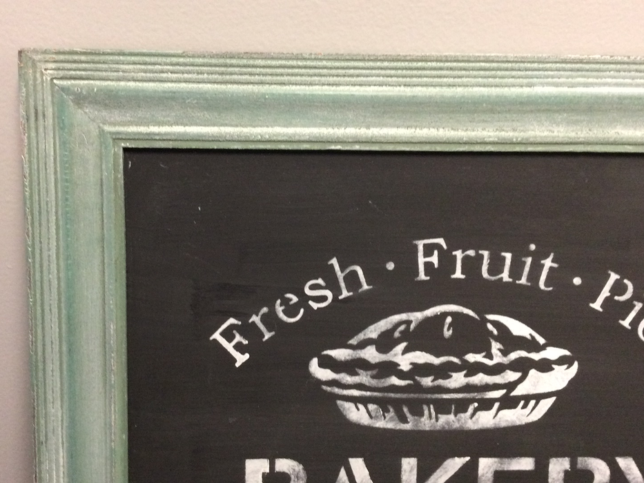 Painted Chalkboard