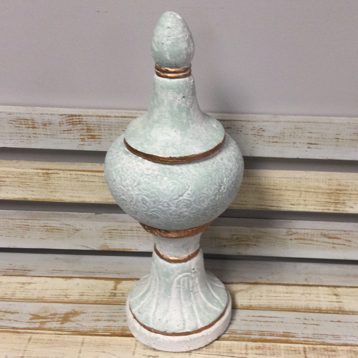 Finial Shaped Urn