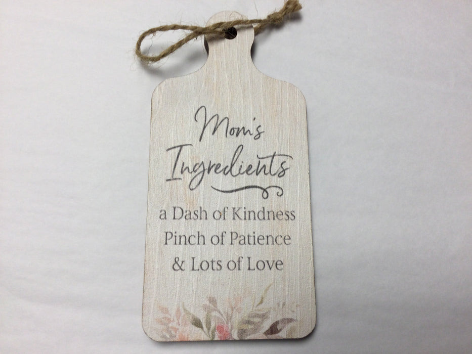 Mini cutting board signs