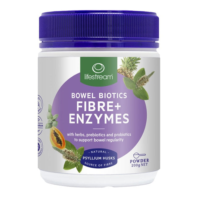 Bowel Biotics with Digestive Enzymes