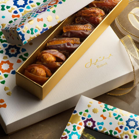 Bateel Luxury Organic Dates - Arabesque Gift Box 135g