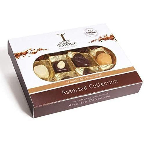 Balance Belgian No Added Sugar Assorted Chocolates 145g