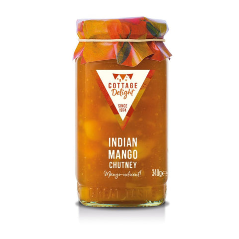 COTTAGE DELIGHT INDIAN MANGO CHUTNEY 340G