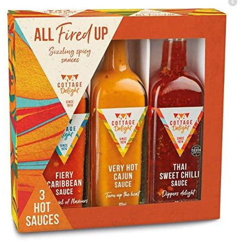 Cottage Delight - All Fired Up Gift Pack 208g