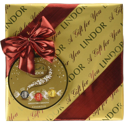 Lindt Lindor Gift Wrapped Assorted Chocolate Box