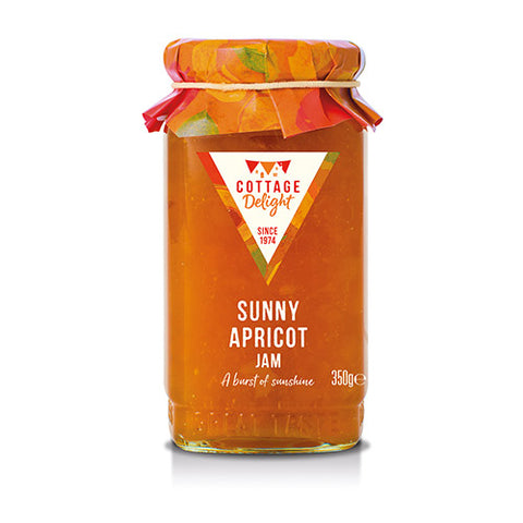 COTTAGE DELIGHT 350G SUNNY APRICOT JAM