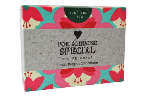 "Just For You ""for Someone Special"" Chocolates - 86g Valentines Day Gift"