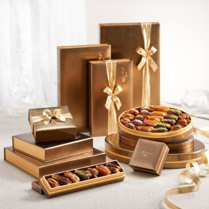 Midas Bateel Organic Dates - Luxury  Gift Box 135g