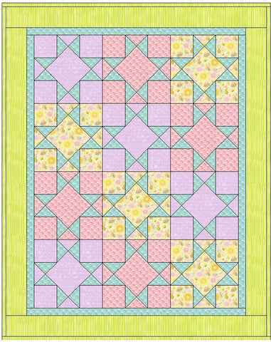 Baby Quilt for Indy Pattern