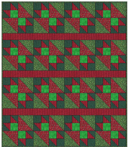 Christmas Wall Hanging Quilt Pattern