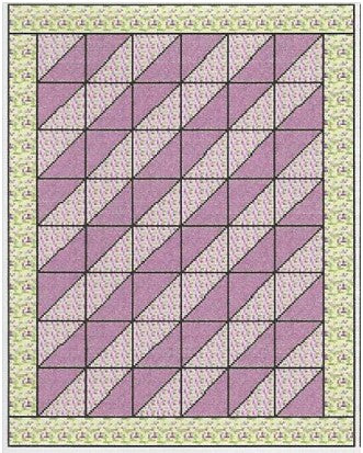 Diagonal Quilt Pattern