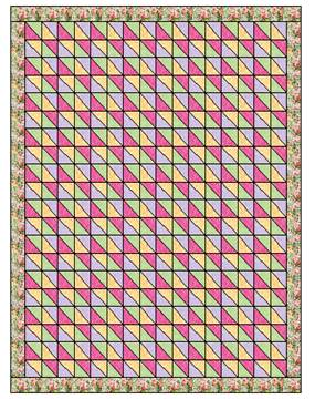 Throw Size Quilt Patterns