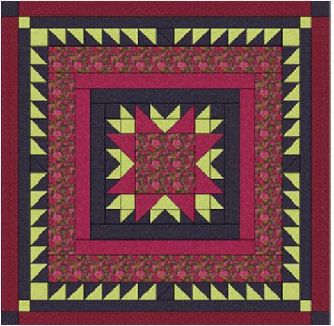 Quilt Pattern 15 Yard King Size Ann's Star