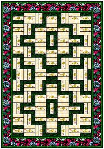 Wood Valley Pathway Quilt Pattern
