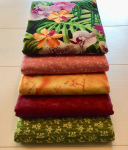 Tropical Fleurs Queen Size Kit