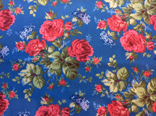 Load image into Gallery viewer, Red and Blue and Roses Too Queen Size Kit