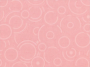 "108"" Tone on Tone Pink Circles Backing"