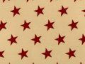 Antique Large Red Stars