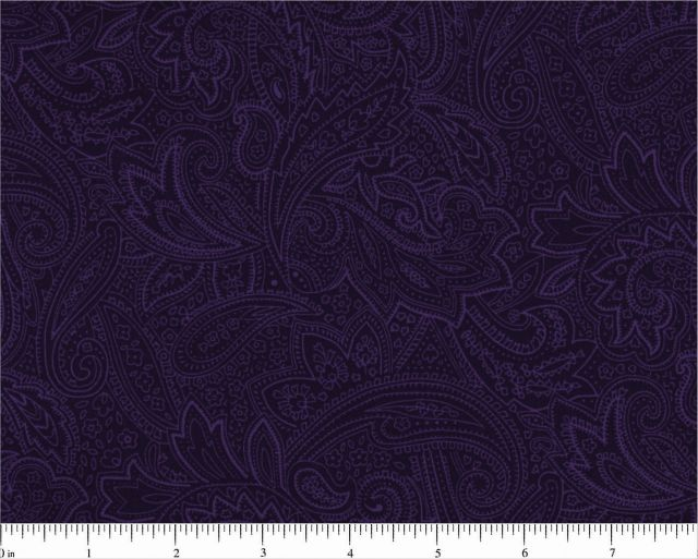 Majestic Purple Paisley