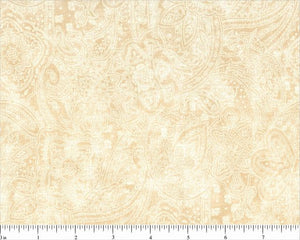 Pale Gold Paisley