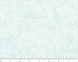 Mint Paisley Backing