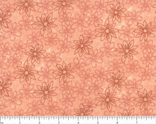 Load image into Gallery viewer, Coral, Peach and Aqua Floral Queen Kit
