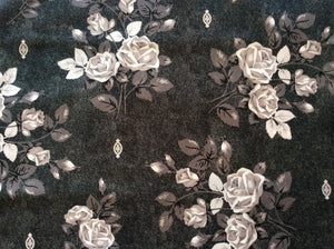 Denim and Roses Queen Size Kit