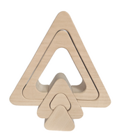 Triangle puzzle stacker - 5 pieces
