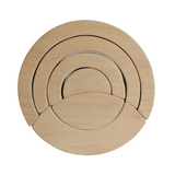 Circle puzzle stacker - 6 pieces