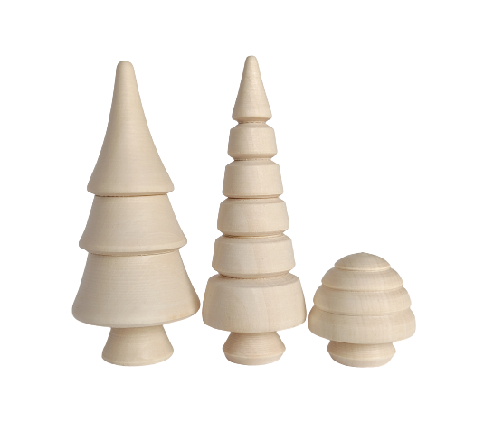Mini Fir Forest - set of 3