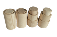 Wood Dowel - 1.5 inches wide x 3.24 inches tall