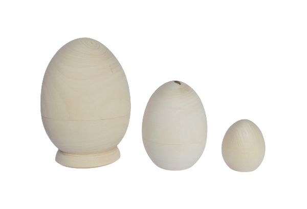 Nesting Eggs - 3 pieces