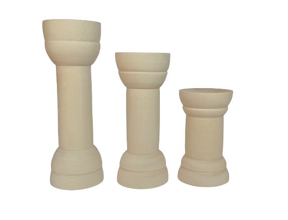 Pillars - set of 6 (2 each)