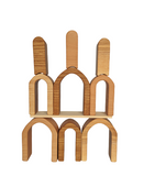 Small House Stackers - set of 3