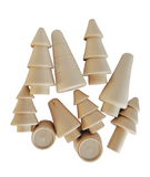 Mini Conical Forest - set of 10