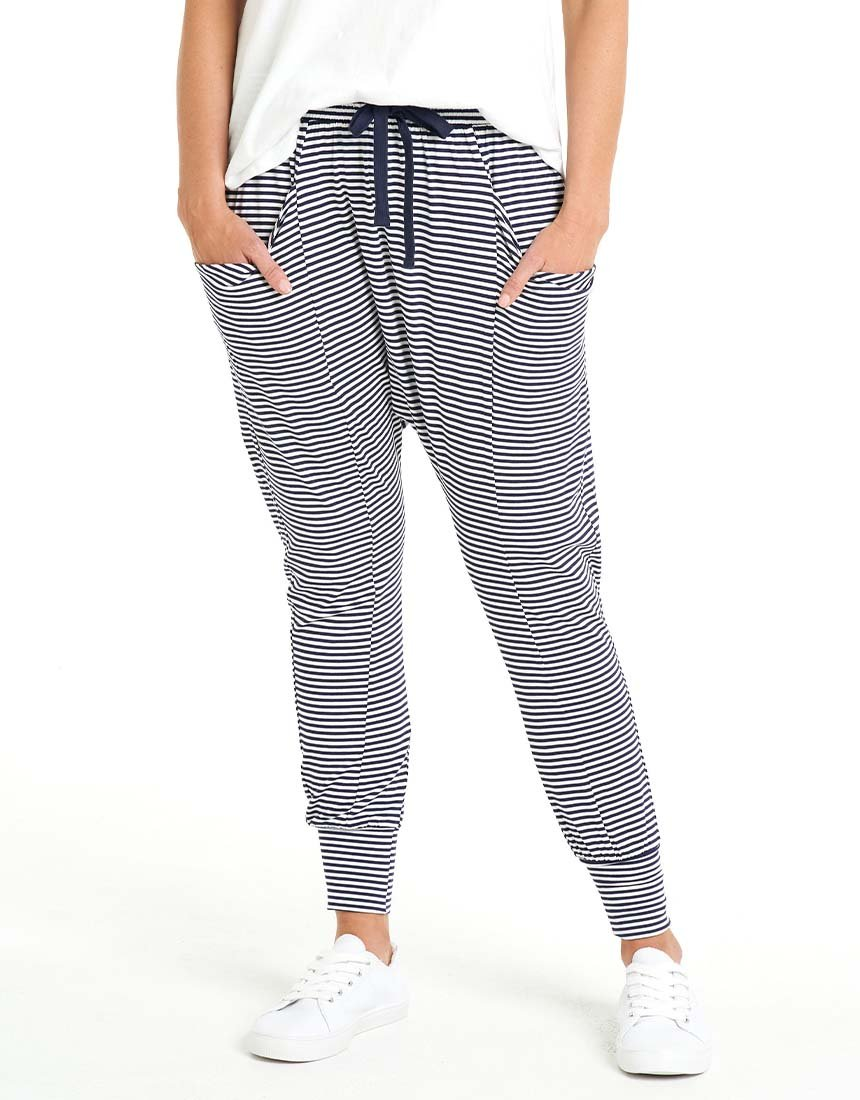 Blue/White Stripy Pants