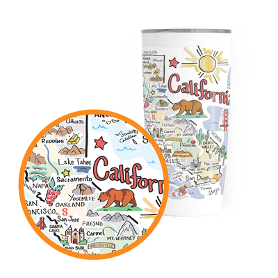 California 20 oz. Tumbler