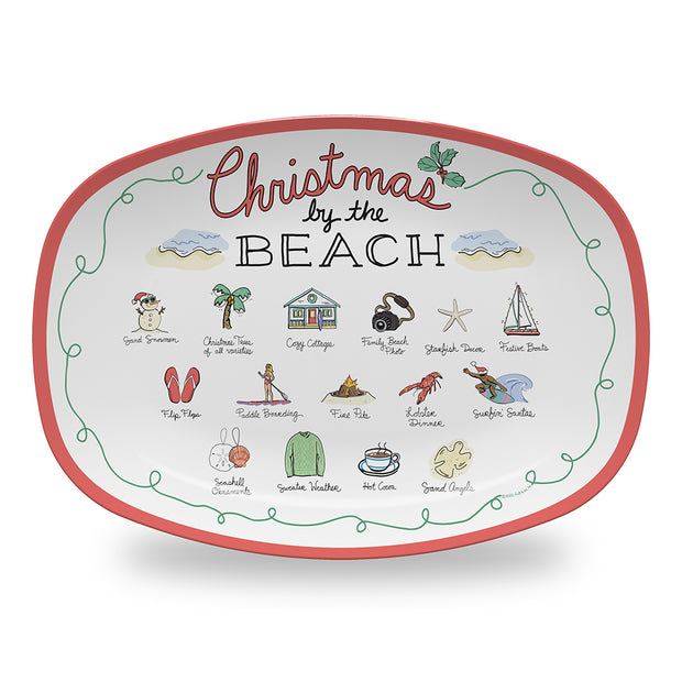 Christmas by the Beach Platter