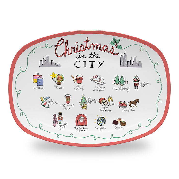 Christmas in the City Platter