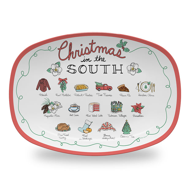 Christmas in the South Platter