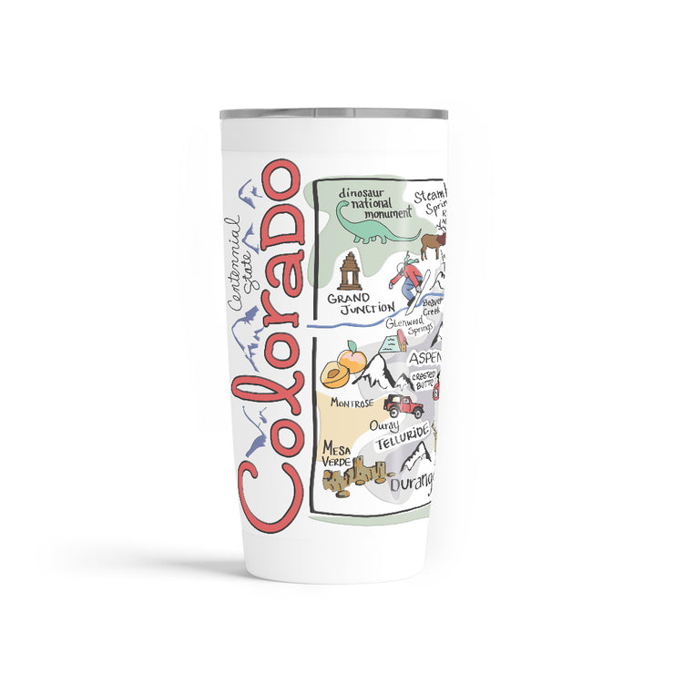 Colorado 20 oz. Tumbler