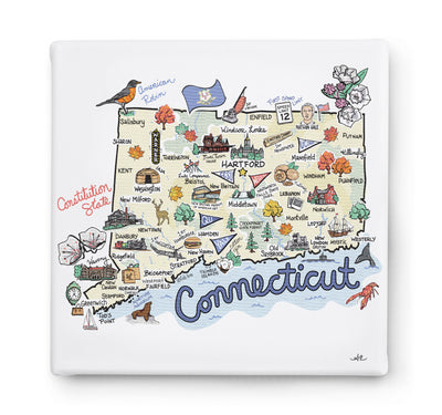 Connecticut Square Canvas Art