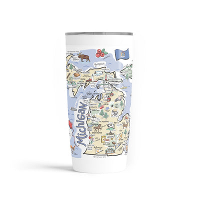 Michigan 20 oz. Tumbler