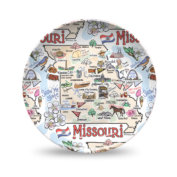 Missouri Map Plate