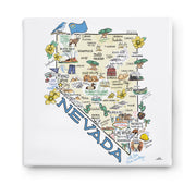 Nevada Square Canvas Art