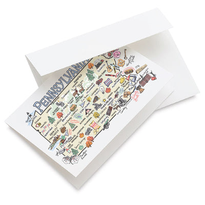 Pennsylvania Greeting Card